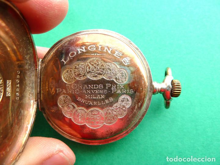 Relojes - Longines: Reloj de bolsillo Longines de plata - Foto 4 - 137917678