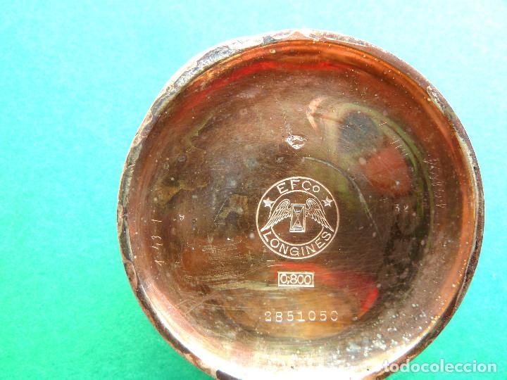 Relojes - Longines: Reloj de bolsillo Longines de plata - Foto 5 - 137917678
