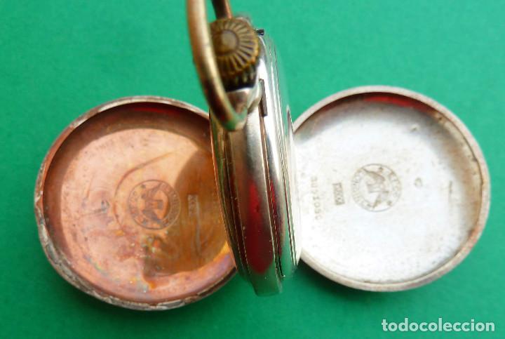 Relojes - Longines: Reloj de bolsillo Longines de plata - Foto 6 - 137917678