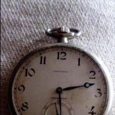 Relojes - Longines: RELOJ DE BOLSILLO LONGINES (NO FUNCIONA). Lote 137963342