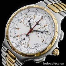 Relojes - Longines: LONGINES-PRECIOSO Y ELEGANTE RELOJ LONGINES CONQUEST LUJO ORO DE CABALLERO-18K/750. Lote 139261338