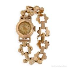 Relojes - Longines: LONGINES ORO ROSA 18K RELOJ DE SEÑORA CUERDA MANUAL. Lote 139460810