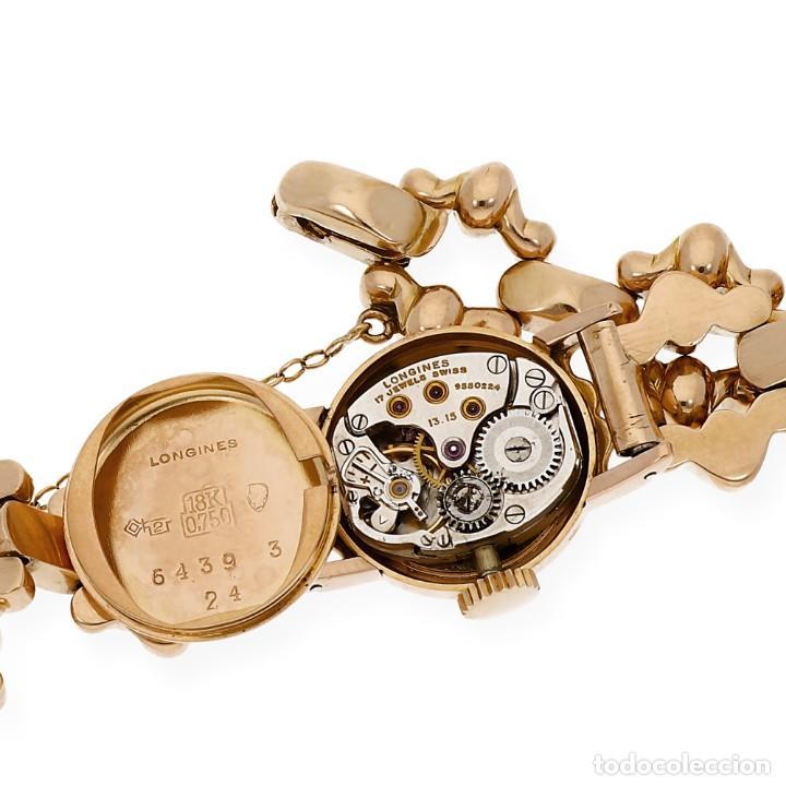 Relojes - Longines: LONGINES ORO ROSA 18K RELOJ DE SEÑORA CUERDA MANUAL - Foto 10 - 139460810