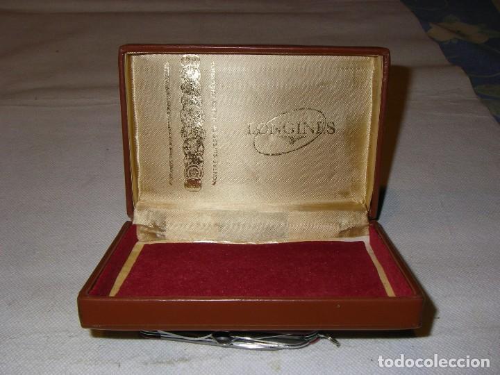 Relojes - Longines: Caja de reloj Longuines, 14 x 10 x 4 cm. - Foto 6 - 150463274