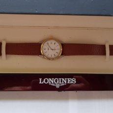 Relojes - Longines: LONGINES QUARTZ CABALLERO ACERO Y ORO FUNCIONANDO CON CAJA PILA NUEVA. Lote 147048258