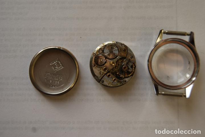 Relojes - Longines: LOTE DE MAQUINAS LONGINES CYMA Y JUSTINA C8 - Foto 2 - 147289282