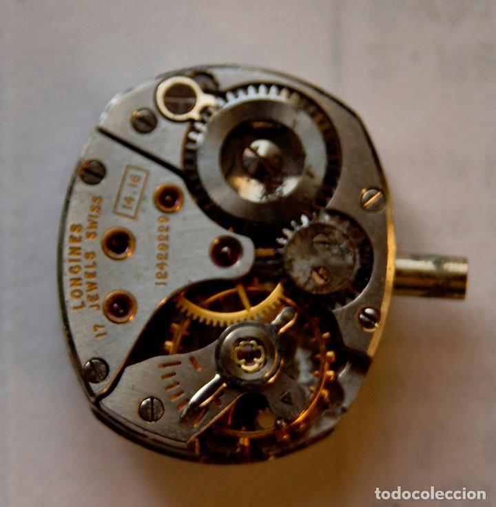 Relojes - Longines: LOTE DE MAQUINAS LONGINES CYMA Y JUSTINA C8 - Foto 6 - 147289282