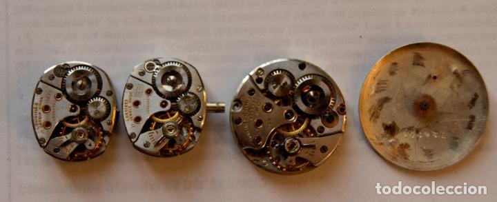 Relojes - Longines: LOTE DE MAQUINAS LONGINES CYMA Y JUSTINA C8 - Foto 8 - 147289282