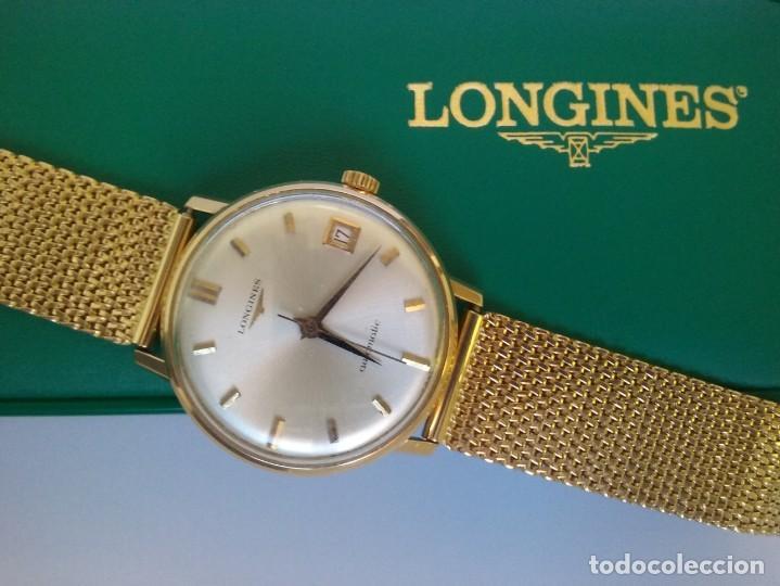 Relojes - Longines: RELOJ LONGINES EN ORO MACIZO DE 18 KILATES/750mm AUTOMATICO Y ANTIGUO - Foto 15 - 147584658