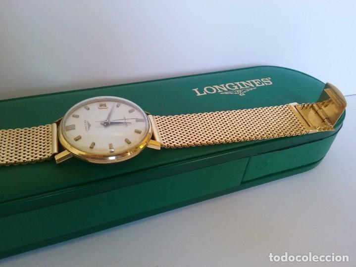Relojes - Longines: RELOJ LONGINES EN ORO MACIZO DE 18 KILATES/750mm AUTOMATICO Y ANTIGUO - Foto 17 - 147584658
