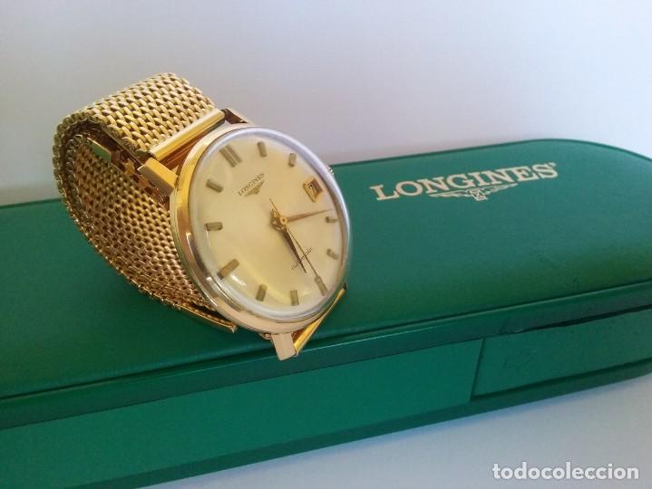 Relojes - Longines: RELOJ LONGINES EN ORO MACIZO DE 18 KILATES/750mm AUTOMATICO Y ANTIGUO - Foto 22 - 147584658