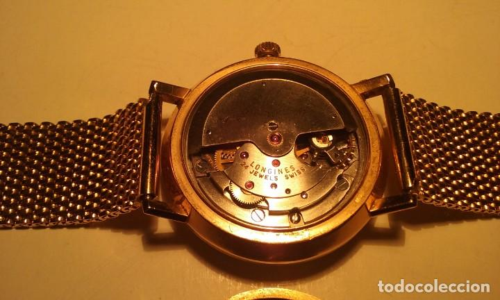 Relojes - Longines: RELOJ LONGINES EN ORO MACIZO DE 18 KILATES/750mm AUTOMATICO Y ANTIGUO - Foto 24 - 147584658