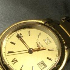 Relojes - Longines: RELOJ LONGINES E F C QUARTZ CHAPADO ORO COMPLETO COMO NUEVO EN SU E. Lote 165454433