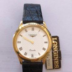 Relojes - Longines: RELOJ LONGINES ORO 18K CUARZO NUEVO AÑOS 90'. Lote 155831609