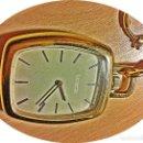 Relojes - Longines: LONGINES BOLSILLO CUADRADO CON LEONTINA.. Lote 158542430