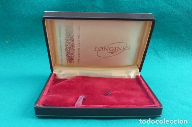 Relojes - Longines: Caja original reloj Longines...alta gama...Pieza de coleccion.. - Foto 2 - 158728370