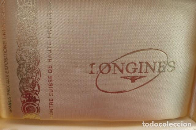 Relojes - Longines: Caja original reloj Longines...alta gama...Pieza de coleccion.. - Foto 3 - 158728370