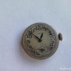 Relojes - Longines: ANTIGUA MAQUINARIA DE RELOJ A CUERDA LONGINES CALIBRE 10 86N - Nº 4395594 FUNCIONANDO. Lote 159588714