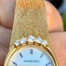 Relojes - Longines: RELOJ DE SEÑORA LONGINES DE ORO Y DIAMANTES.. Lote 160160014