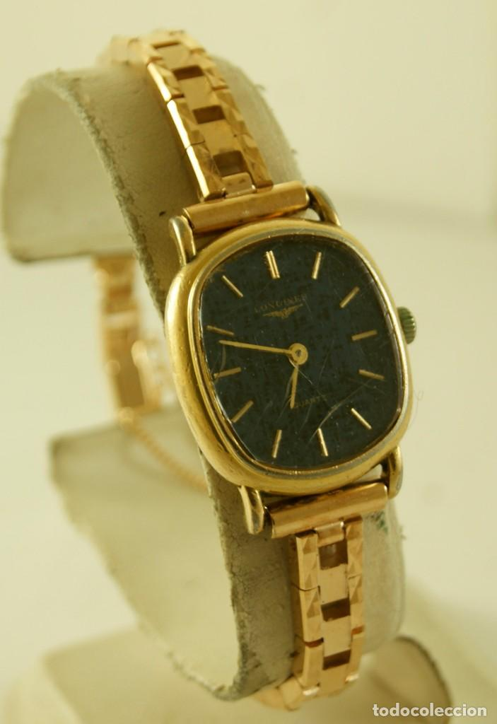 LONGINES QUARTZ DAMA TIPO COCKTAIL FUNCIONANDO (Relojes - Relojes Actuales - Longines)