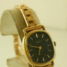 Relojes - Longines: LONGINES QUARTZ DAMA TIPO COCKTAIL FUNCIONANDO. Lote 160730574