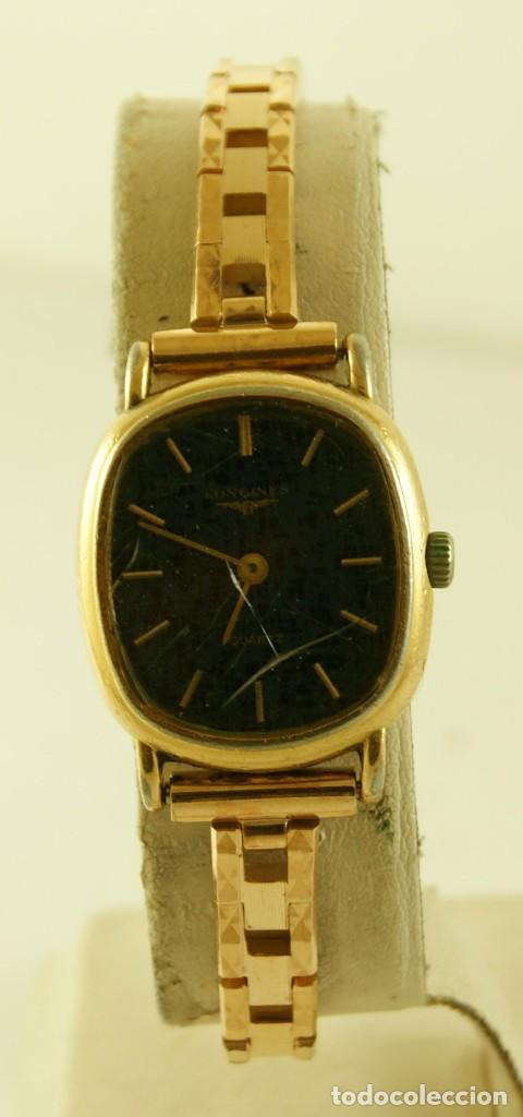 Relojes - Longines: LONGINES QUARTZ DAMA TIPO COCKTAIL FUNCIONANDO - Foto 2 - 160730574