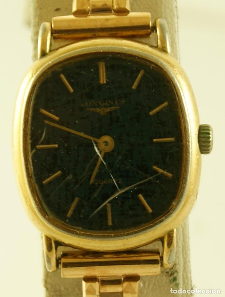 Relojes - Longines: LONGINES QUARTZ DAMA TIPO COCKTAIL FUNCIONANDO - Foto 4 - 160730574