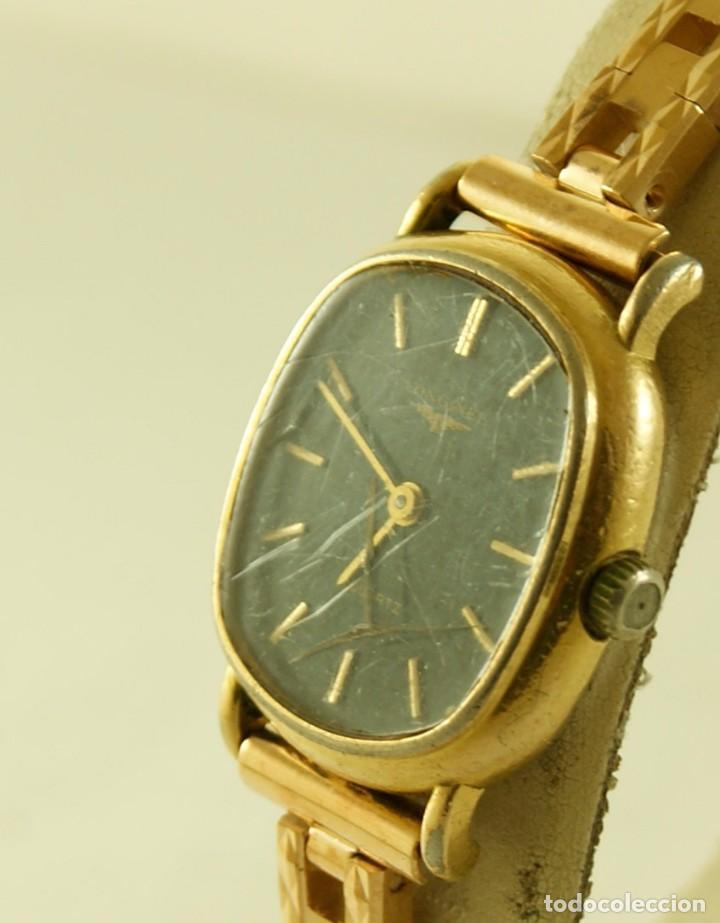 Relojes - Longines: LONGINES QUARTZ DAMA TIPO COCKTAIL FUNCIONANDO - Foto 5 - 160730574