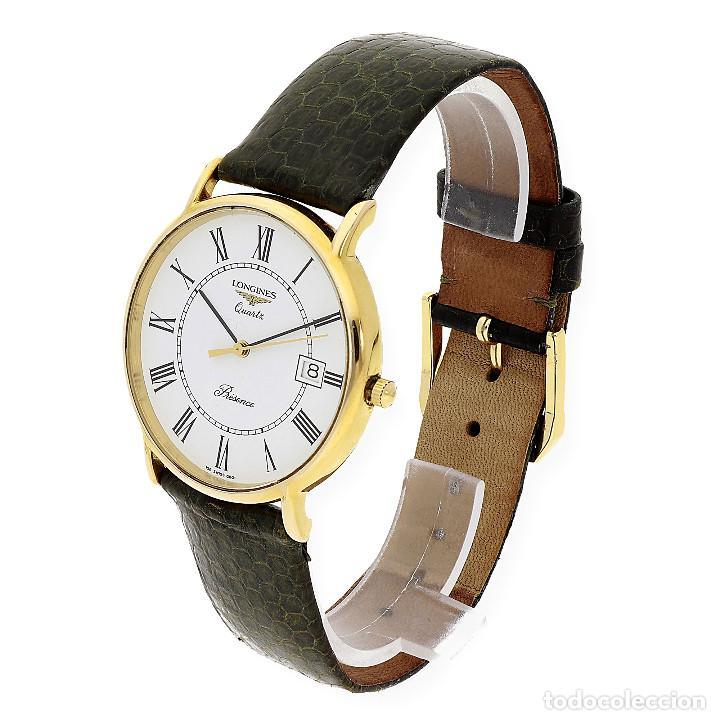 Relojes - Longines: Longines Presence Dial Reloj Unisex Oro Amarillo 18k y Acero - Foto 2 - 160943674