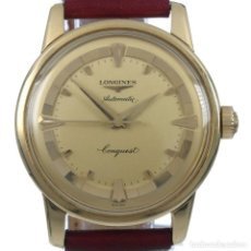 Relojes - Longines: LONGINES CONQUEST 1950S ORO 18KT. Lote 165331878