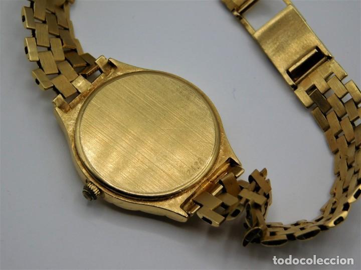 Relojes - Longines: LONGINES-PRECIOSO RELOJ-JOYA DE ORO 18K Y PULSERA DE ORO 18K-DE DAMA-CUARZO- - Foto 5 - 165780086