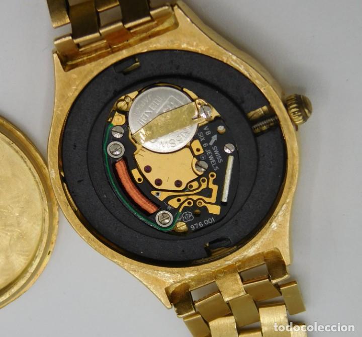 Relojes - Longines: LONGINES-PRECIOSO RELOJ-JOYA DE ORO 18K Y PULSERA DE ORO 18K-DE DAMA-CUARZO- - Foto 10 - 165780086
