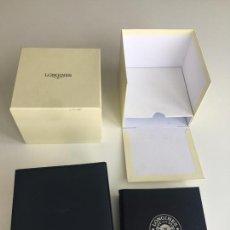 Relojes - Longines: CAJA ORIGINAL DE RELOJ LONGINES . Lote 166390414