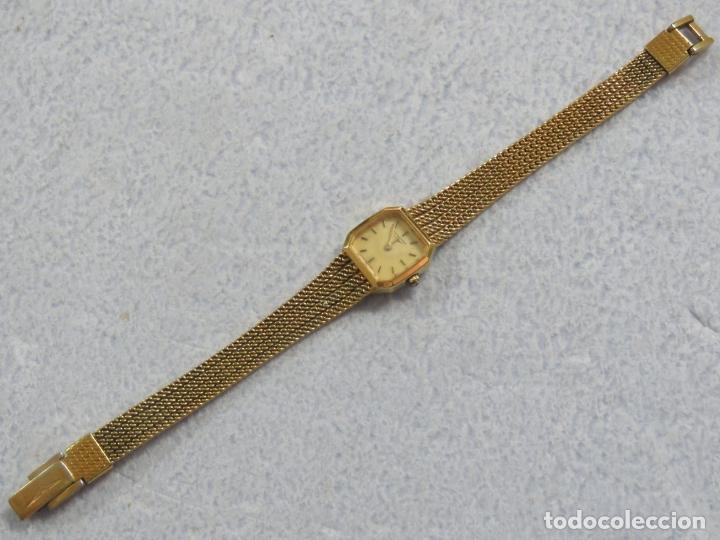 Relojes - Longines: BONITO RELOJ DE PULSERA DE LA MARCA LONGINES PARA MUJER, CHAPADO EN ORO, FUNCIONA - Foto 3 - 167721948