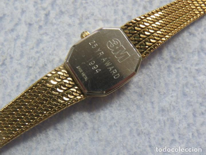 Relojes - Longines: BONITO RELOJ DE PULSERA DE LA MARCA LONGINES PARA MUJER, CHAPADO EN ORO, FUNCIONA - Foto 12 - 167721948