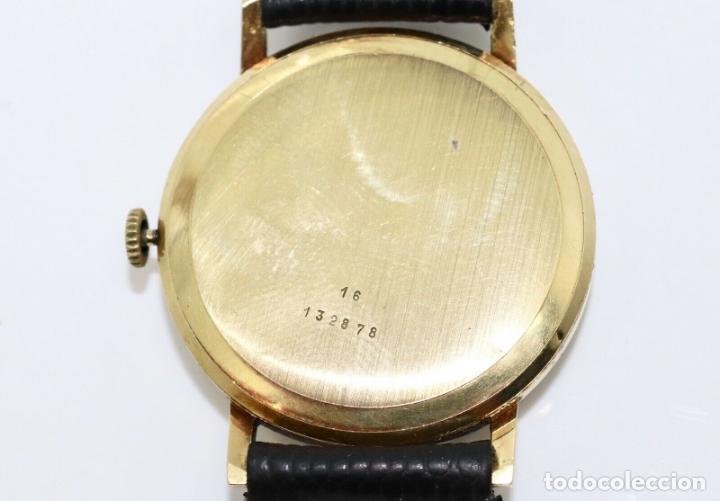 Relojes - Longines: PRECIOSO RELOJ DE HOMBRE DE LA MARCA LONGINES DE ORO DE 18 KT CON MARCAJES, DE LOS AÑOS 60, FUNCIONA - Foto 5 - 168723412