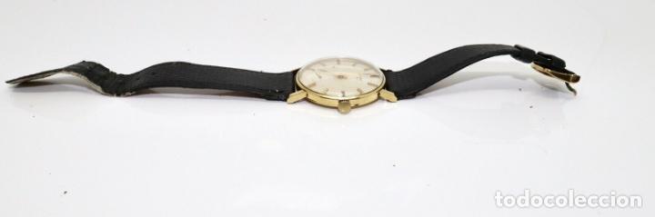 Relojes - Longines: PRECIOSO RELOJ DE HOMBRE DE LA MARCA LONGINES DE ORO DE 18 KT CON MARCAJES, DE LOS AÑOS 60, FUNCIONA - Foto 6 - 168723412
