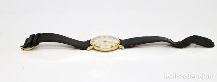 Relojes - Longines: PRECIOSO RELOJ DE HOMBRE DE LA MARCA LONGINES DE ORO DE 18 KT CON MARCAJES, DE LOS AÑOS 60, FUNCIONA - Foto 7 - 168723412