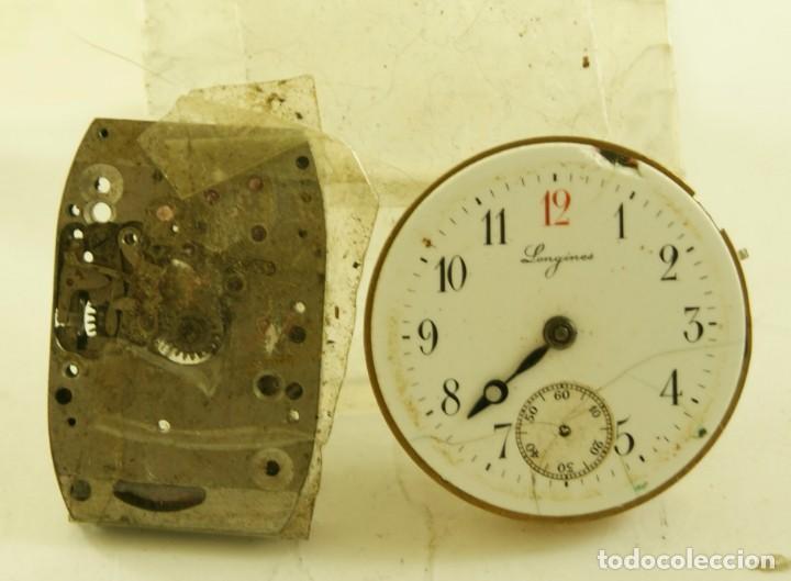 LOTE DE 2 CALIBRES LONGINES 11.84 N Y 25.17 PIEZAS (Relojes - Relojes Actuales - Longines)