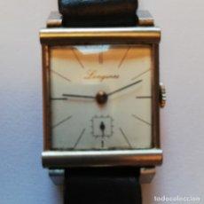 Relojes - Longines: PRECIOSO LONGINES AÑOS 30. ACERO Y CRISTAL CURVEX. Lote 172911878