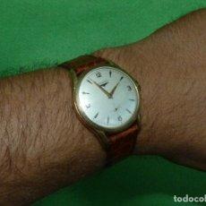 Relojes - Longines: PRECIOSO LONGINES 17 RUBIS CUERDA MANUAL CALIBRE 12.68Z GRANDE AÑOS 40. Lote 173329413