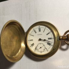 Relojes - Longines: LONGINES RELOJ DE BOLSILLO PRINCIPIOS SIGLO XX , 3 TAPAS FUNCIONA. Lote 176555129