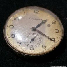 Relojes - Longines: ANTIGUA MAQUINARIA CON CRISTAL DE LONGINES DE CABALLERO.. Lote 177336475