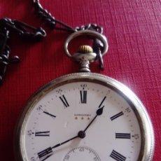 Relojes - Longines: RELOJ DE BOLSILLO LONGINES (NO FUNCIONA BIEN). Lote 179074173