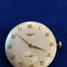 Relojes - Longines: MAQUINARIA LONGINES DE RELOJ DE ORO. 35MM DIÁMETRO, FUNCIONA.. Lote 179337696