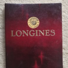 Orologi - Longines: GARANTÍA LONGINES - RELOJ - JOYERÍA DEBY - AÑO 1970. Lote 182151701