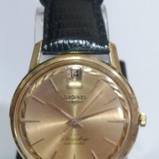Relojes - Longines: FLAGSHIP AUTOMATICO ORO. Lote 184714930