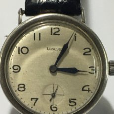 Relojes - Longines: RELOJ LONGINES PLATA DEL 1900 MAQUINARIA ORIGINAL 13.34 MUY ESCASOS PARA COLECCIONISTAS. Lote 186136042