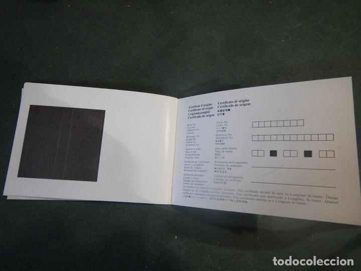 Relojes - Longines: Librito garantía Longines sin rellenar - Foto 2 - 234482925