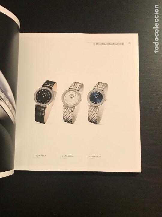 Relojes - Longines: CATALOGO LONGINE 2015 / 2016 - RELOJ RELOJES LIBRO EN ESPAÑOL - NO ROLEX OMEGA PATEK PHILIPPE CASIO - Foto 2 - 192193433